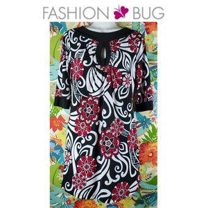 Fashion Bug Retro Style Dress Size XS